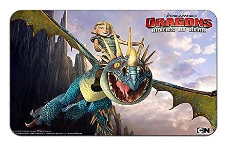 Amazon com : Dragon Riders of Berk TV Show Stylish Playmat