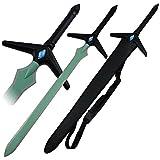 Sword Art Online II Cosplay Kirito Left hand Weapons Sword Black