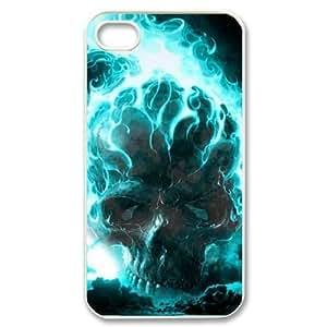 Boast Diy ALICASE Diy Customized case Mpk03Z0TCkp cover Skull For Iphone 4/4s