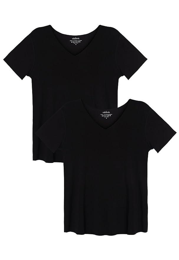 Amazon.com: Vislivin - Camisetas de manga corta para mujer ...