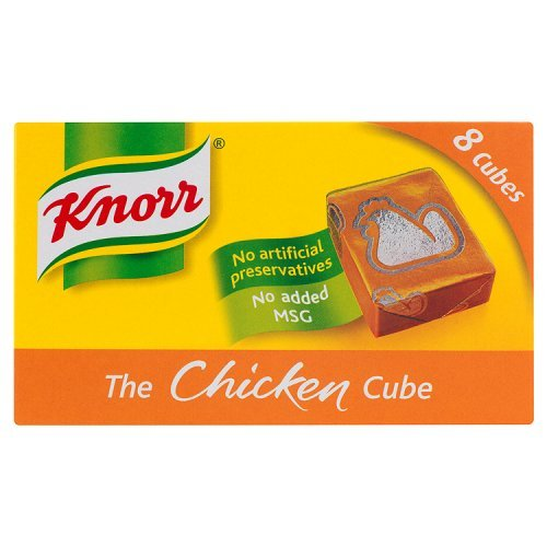 Stock Cubes Chicken (Knorr Chicken Stock Cubes 8 Pack 50g)
