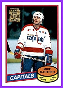 2001-02 Topps Archives #81 Mike Gartner WASHINGTON CAPITALS