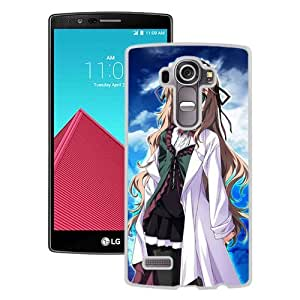 Popular And Unique Designed Cover Case For LG G4 With Baldr Force Exe Resolution Woman Pose Look Space white Phone Case BY icecream design