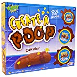 TheWorks Poo RMS Create A Poop Kit with Play Dough, Multi Colour