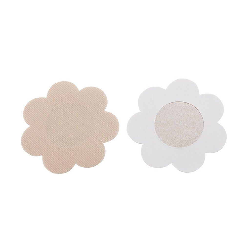 10 Paare Blütenblatt Selbstklebende Pasteten Nippel Einweg Abdeckung Aufkleber one size Generic