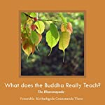 What Does the Buddha Really Teach?: Dhammapada - English | Ven. Kiribathgoda Gnanananda Thero