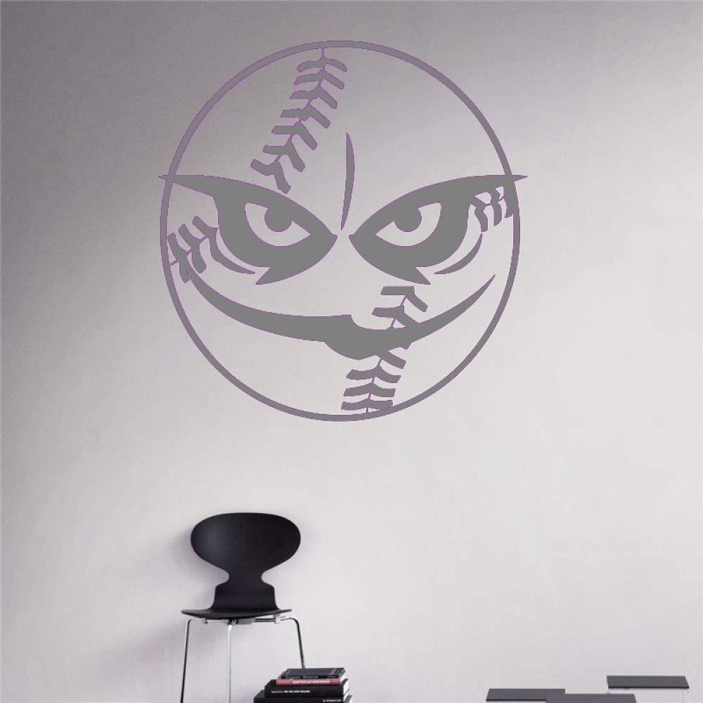 yaoxingfu Ball Beast Tatuajes de Pared Béisbol Vinilo Deporte ...