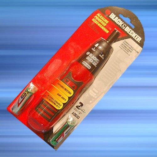 Black Decker Alkaline Powered Screwdriver product image