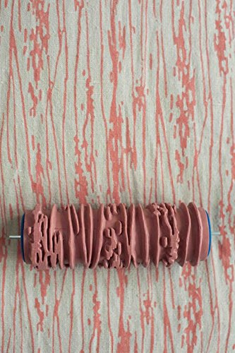 bueer-5-patterned-paint-roller-decorative-texture-roller-with-single-color-painting-machinetree-line