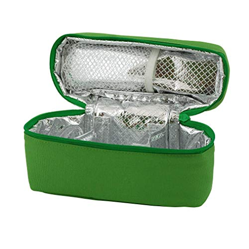 - green sprouts Baby Food Travel Case | Keeps food warm or cool | Insulated inside layer, Durable & waterproof