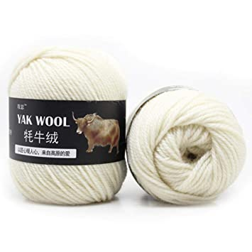 Hilo de ganchillo,10PCS DIY Chunky Hilado de lana de color surtido,Beatie Lana de crochet de algodón para suéteres de punto,chaquetas de ...
