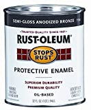 Rust-Oleum 7792504 Protective Enamel Paint Stops Rust, 32-Ounce, Gloss...