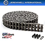 35-2 Double Strand Duplex Roller Chain 10 Feet with 1 Connecting Link