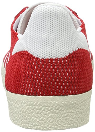 Primeknit Scarpe Rosso Footwear Chalk Scarlet Uomo Ginnastica White Gazelle White Basse da adidas 5H4w0