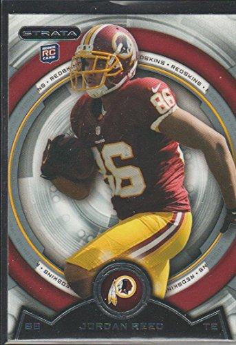 (2013 Topps Strata Jordan Reed Redskins Rookie Football Card #147)