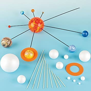 Make Your Own Solar System Kits with Various Sizes Polystyrene ...