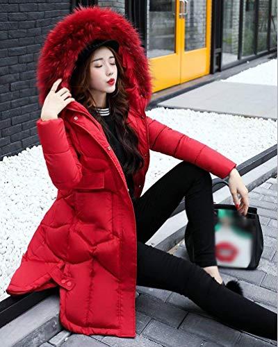 Hiver Haute Oversize De Parker Fourrure Doudoune avec Manteau Qualit Capuchon Warm Femme vwqqWfzE