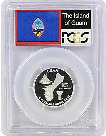 2009-S PCGS PR69DCAM Northern Mariana Islands Territory Quarter
