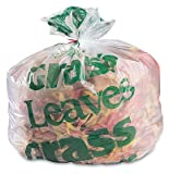 30'' x 50'' High Density Grass/Leaf Bags (17 microns) (250 Bags) - AB-85-4-30