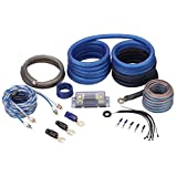 Rockville RWK0CU 0 AWG Gauge 100-Percent Copper Complete Amp Installation Wire Kit OFC