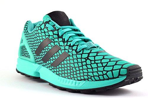 Adidas Zx Fluxo Homens Techfit Sneaker Mintgrã¼n / Preto 40