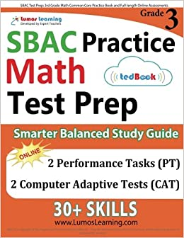 Sbac test prep 3rd grade math common core practice book and full sbac test prep 3rd grade math common core practice book and full length online assessments smarter balanced study guide with performance task pt and fandeluxe Gallery
