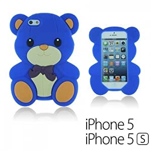 Dog Style Soft Silicone For Iphone 6 4.7 Inch Case Cover - Blue
