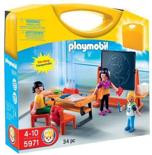 (PLAYMOBIL Carrying Case School Playset)