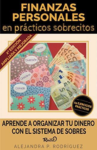 Portada del libro Finanzas personales en prácticos sobrecitos de Alejandra P. Rodríguez