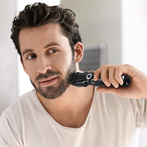SUPRENT Beard Trimmer Kit, 4 in 1 Multi-functional Body Groomer Kit of Mustache Trimmer, Nose Hair Trimmer and Precision Trimmer, Rechargeable Cordless by SUPRENT (Image #3)
