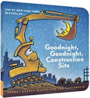 Goodnight, Goodnight Construction Site (Board Book for Toddlers, Children's Board B
