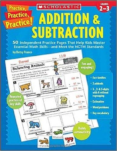 Amazon.com: Practice, Practice, Practice! Addition & Subtraction ...