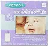 Lansinoh Breastmilk Storage Bottles, 4 ct