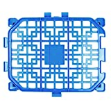 MMdex Indoor Adjustable DIY Pet Playpen,Yard Exercise Fence and Gate for Dogs and Cats-1 Panel Blue