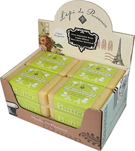 Epi De Provence Citrus Bergamot Shea Butter Soap, Case