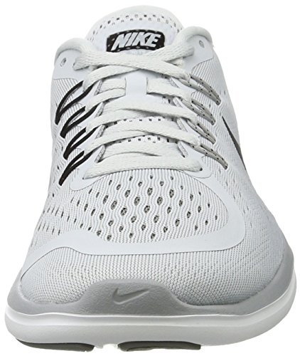 Nike Pure Sportive Platinum Running Indoor Sense Scarpe Black Free Grey 002 Donna RN Grigio Cool Shoe Women's Wolf Grey rgPqr