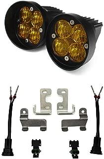 product image for Baja Designs 4Runner 2010+ Squadron SAE Amber FPK Pair LED Fog Light Kit