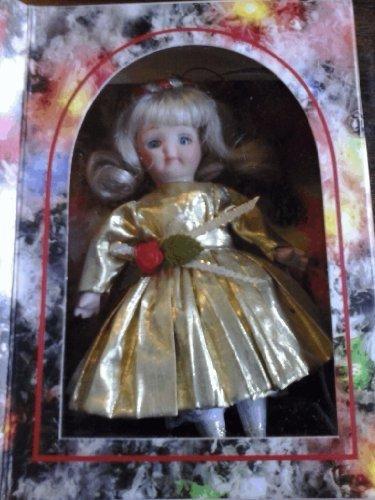 Marie Osmond Porcelain Christmas Greeting Card Doll by Knickerbocker (Greetings Porcelain)