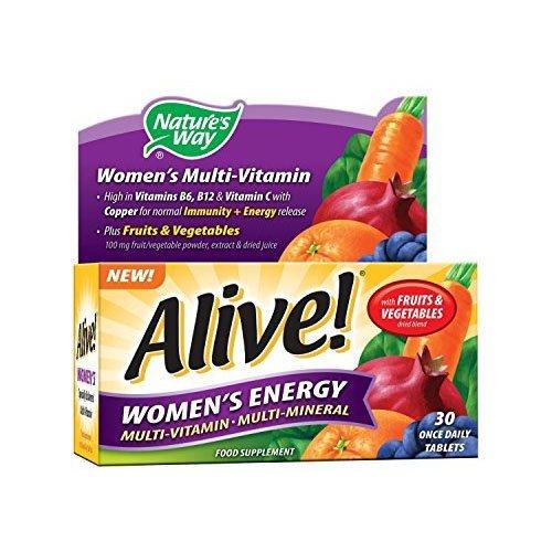 Alive! Tabletas Energía de Mujer 30 onzas por Día: Amazon.es: Salud y cuidado personal