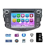 NVGOTEV 7 Inch Car DVD Stereo Special for Toyota RAV4 2006-2012 with Windows Ce 6.0 Operating System & 2 Din in Dish
