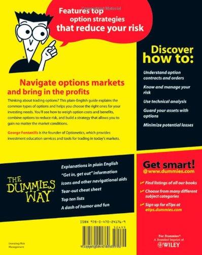 Understanding stock options for dummies