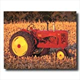 1947 Massey Harris Farm Tractor Wall Picture 16x20 Art Print