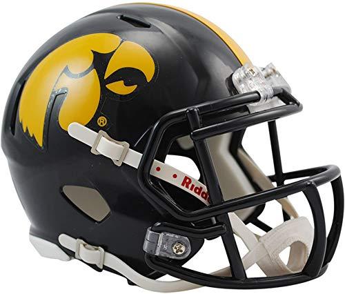 Sports Memorabilia Riddell Iowa Hawkeyes Revolution Speed Mini Football Helmet - College Mini Helmets