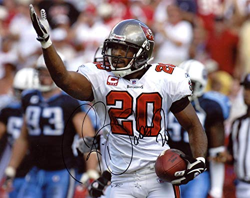 Ronde Barber Tampa Bay Buccaneers Autographed Signed 8x10 Photo - Certified Authentic