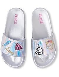 Kids' BG Patch Slides Flat Sandal