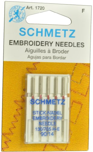 SCHMETZ Embroidery Sewing Needles Size 90/14