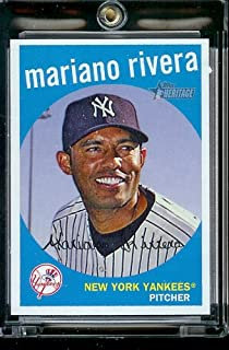 Topps 2008 Heritage#99 Mariano Rivera MLB New York Yankees Baseball cartes à jouer/à visser