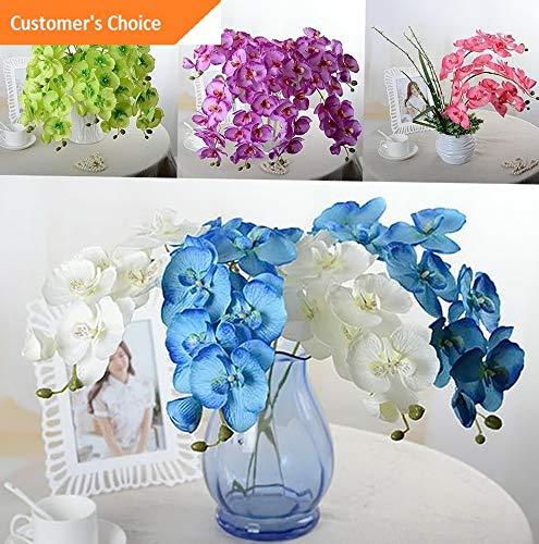 - Hebel Artificial Butterfly Orchid Silk Fake Flower Wedding Party Phalaenopsis Bouquet   Model ARTFCL - 406  