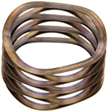 Multiwave Washers, Stainless Steel, Inch, 1'' ID, 1.25'' OD, 0.012'' Thick, 24lbs/in Spring Rate, 12lbs Load Capacity (Pack of 5)