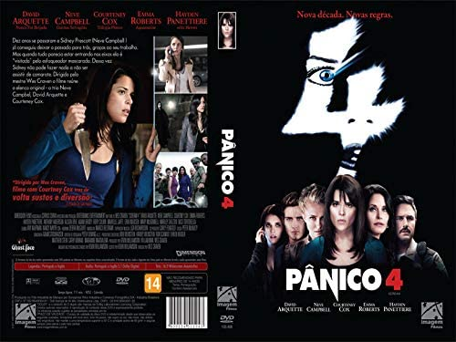 Pânico 4: David Arquette, Neve Campbell, Courteney Cox, Wes Craven ...